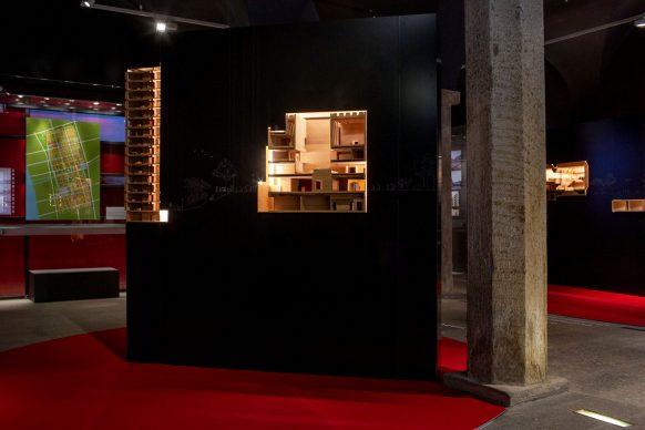 Vista dell'allestimento della mostra China Goes Urban. La nuova epoca delle città al MAO di Torino. Foto di Samuele Pellecchia