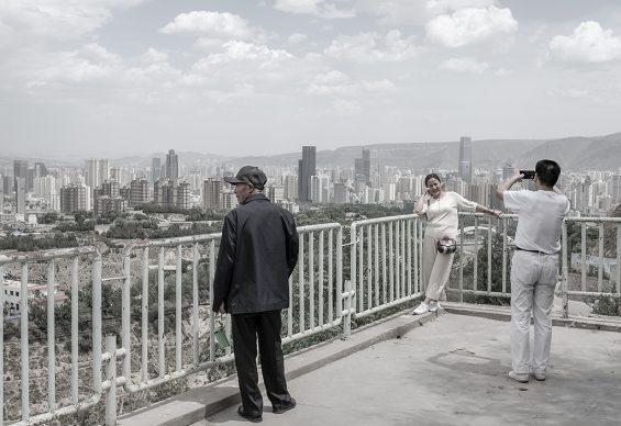 Belvedere sulla collina, 2019, Lanzhou, provincia del Guansu. Foto di Samuele Pellecchia