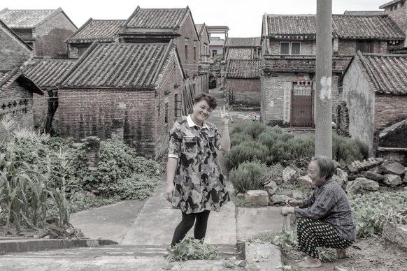 Ritratto di famiglia a Guanglizhen, 2017, Zhaoqing, Provincia del Guangdong. Foto di Samuele Pellecchia