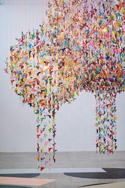 Charles Kaisin, Origami For Life - Fondation Engie / Palais de Tokyo Paris. Photo credit Nicolas Lobet