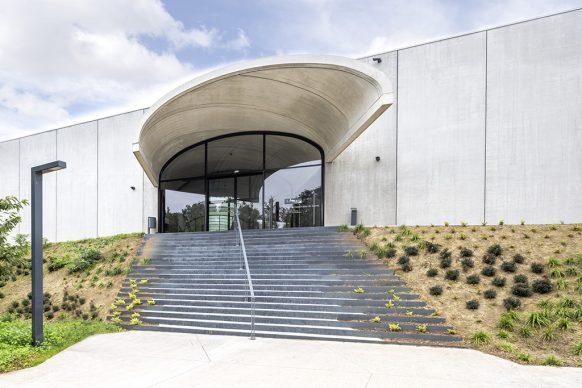 Entrée du CCL © Architecte RSHP. Photo Danica O Kus