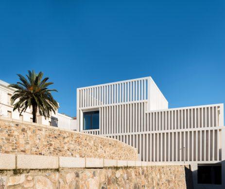 Exterior of the Museum of Contemporary Art Helga de Alvear. Photo: Amores Pictures