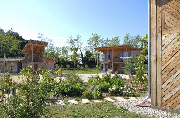 Studio Albori, Houses and riding centre. Photo ©Studio Albori