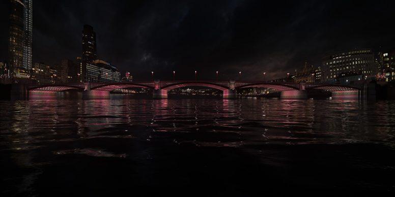 Illuminated River, Blackfriars Road © Leo Villareal