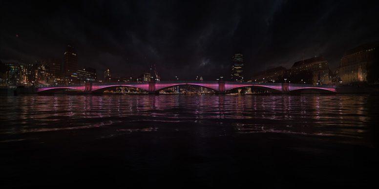 Illuminated River, Lambeth © Leo Villareal