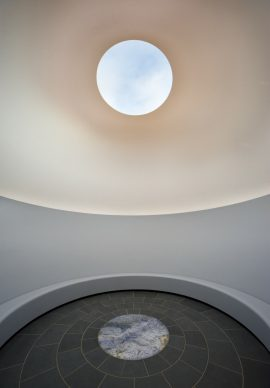 Interior of James Turrell, Within Without, 2010. National Gallery of Australia, Canberra. CreditJohn Gollings