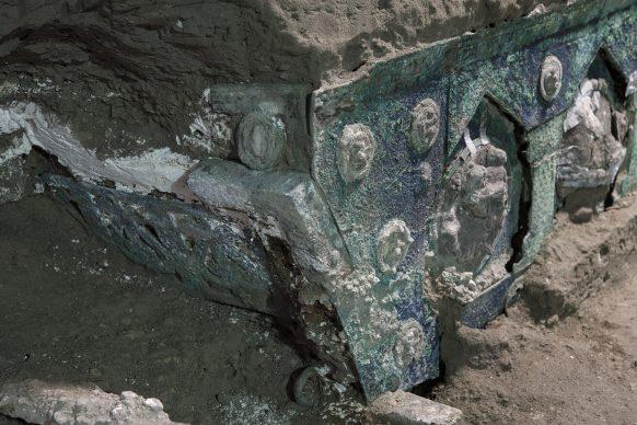 Parco Archeologico di Pompei, il carro da parata di Civita Giuliana. Photo ®Luigi Spina. Courtesy Parco Archeologico di Pompei