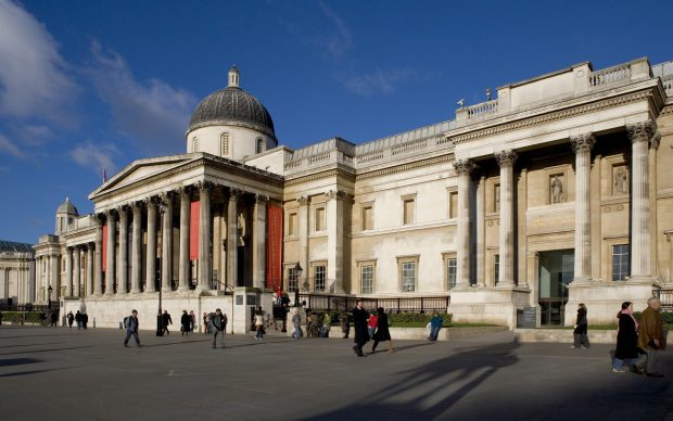 National Gallery Exterior – Trafalgar Square © National Gallery, London