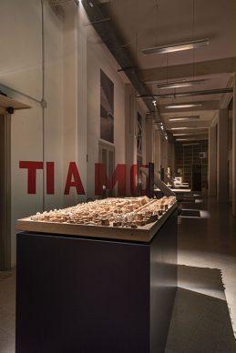 Vista dell'allestimento della mostra Pier Luigi Nervi e Firenze, la Struttura della Bellezza. Photo Alessandro Fibbi