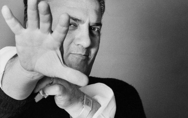 Federico Fellini Ritratto Rosso Photo courtesy Archivio Elisabetta Catalano