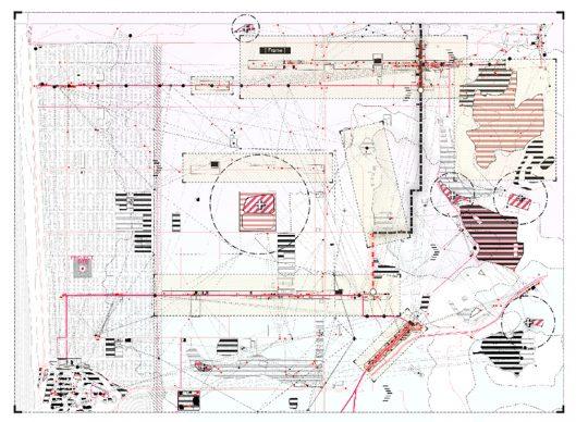 Digital Winner: Re-Reading Metropolis by Chenglin Able, University of California, Berkeley. Courtesy l'autore e Architecture Drawing Prize 2020