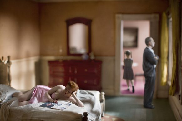 Richard Tuschman©, Pink Bedroom (Family), 2013, Inkjet print on cotton paper, cm 60x90, Edition 4-6, Signed on verso Framed, Courtesy Photology