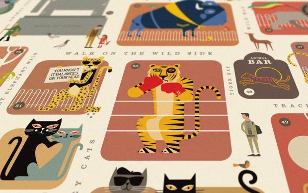 Rock 'N' Roll Zoo – Original Open Edition, courtesy Dorothy