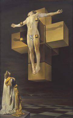 Salvador Dalí, Study for Corpus Hypercubus, c. 1954: Christopher H. Brown Collection