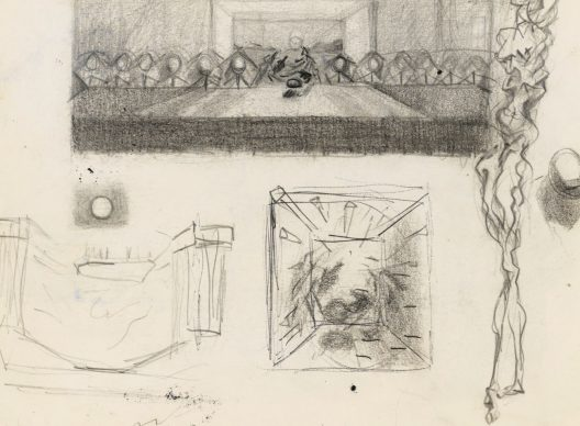 Salvador Dalí, Study for The Sacrament of the Last Supper, 1954: Christopher H. Brown Collection