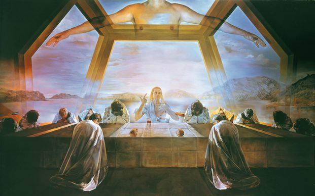 Salvador Dalí, The Sacrament of the Last Supper, 1955: Art Resource