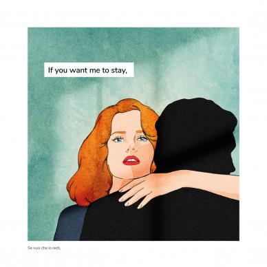 Una illustrazione di Giulia Rosa tratta dal libro Pages Not Found (Hop!, 2021). Courtesy l'editore