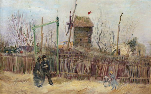 Sotheby's and Mirabaud Mercier. Impressionist & Modern Art. Sotheby's Paris, 25 March 2021. Private Collection, France. Vincent van Gogh, Scène de rue à Montmartre (Impasse des Deux Frères et le Moulin à Poivre), 1887. Oil on canvas, 46.1 x 61.3cm; 18⅛ x 24⅛ in. Estimate: €5,000,000 – 8,000,000 © Sotheby's / ArtDigital Studio