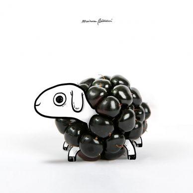 Pecora-mora. Una illustrazione di Marianna Balducci. Courtesy l'artista