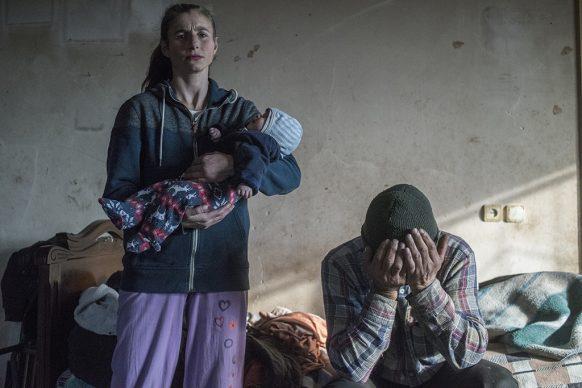World Press Photo of the Year, nominee: Leaving Home in Nagorno-Karabakh © Valery Melnikov, Russia, Sputnik