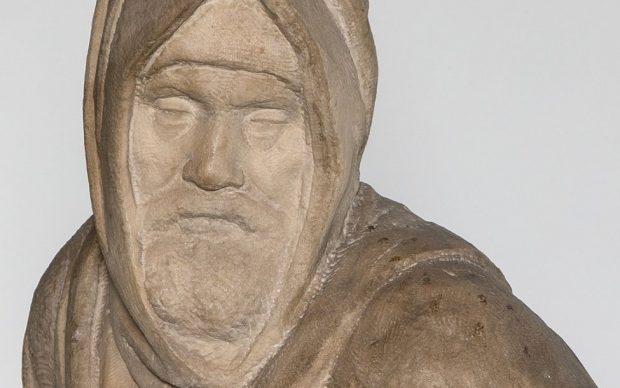 Pietà di Michelangelo detta Pietà Bandini o dell'Opera del Duomo, particolare del volto, Museo dell'Opera del Duomo, Firenze. Courtesy Opera di Santa Maria del Fiore, foto Alena Fialová