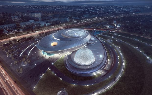 Image by ATCHAIN for Ennead Architects