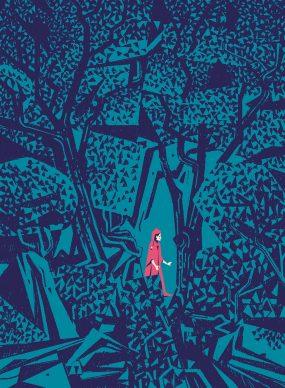 La selva oscura. Immagine per gentile concessione di Matteo Berton