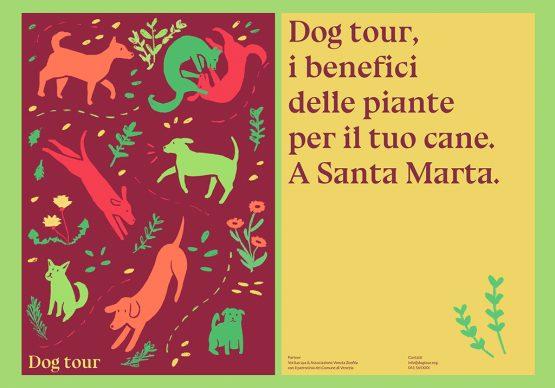 """Progetto """"Dog tour"""". Immagine courtesy studenti di Design Iuav"""