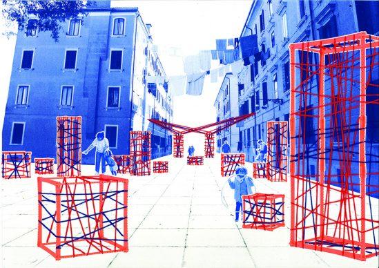 """Progetto """"Marta Marcà"""". Immagine courtesy studenti di Design Iuav"""