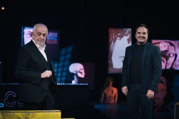 Gianni Canova e Andrea Guerra, ospite di Luce Social Club