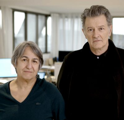 Anne Lacaton and Jean-Philippe Vassal. Photo courtesy of Laurent Chalet
