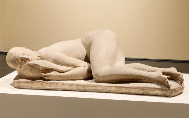 Arturo Martini, La Pisana, 1933 ca, terraglia patinata chiara, Collezione Alberto Della Ragione. Ph crop_©NicolaNeri_WEB-06