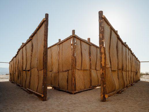 Desert X installation view of Eduardo Sarabia, The Passenger. 2021. Photography by Lance Gerber. Courtesy the artist and Desert X