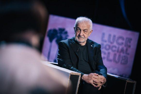 Gianni Canova, conduttore di Luce Social Club