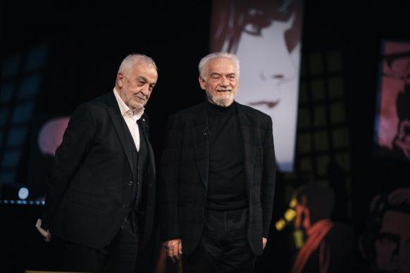 Gianni Canova e Giorgio Colangeli, ospite di Luce Social Club