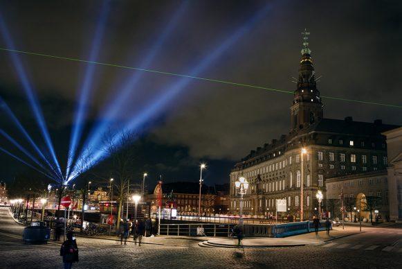 Copenhagen Light Festival 2021. Photo Christoffer Askman, KongshaugTV, CLF
