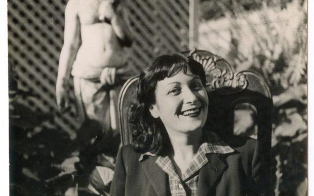 Lina Bo Bardi, photo by Pietro Bardi, 1947. Courtesy of Instituto Bardi