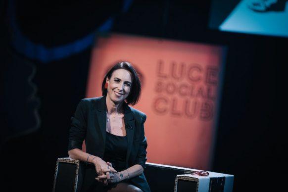 Martina Riva, conduttrice di Luce Social Club