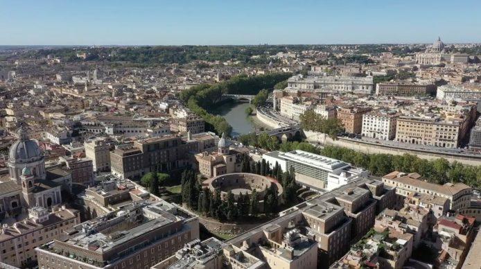 Roma, Mausoleo di Augusto. Photo courtesy Fondazione TIM