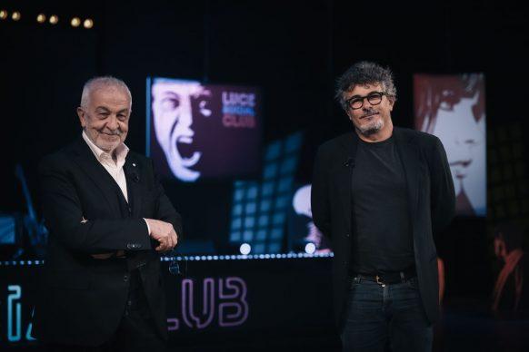 Gianni Canova e Paolo Genovese, ospite di Luce Social Club