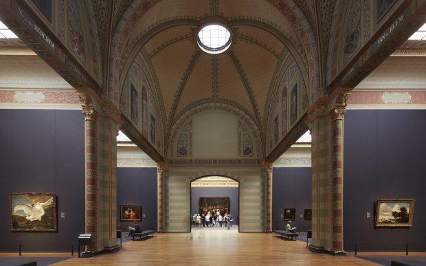 Rijksmuseum, Gallery of Honour. Photo Erik Smits