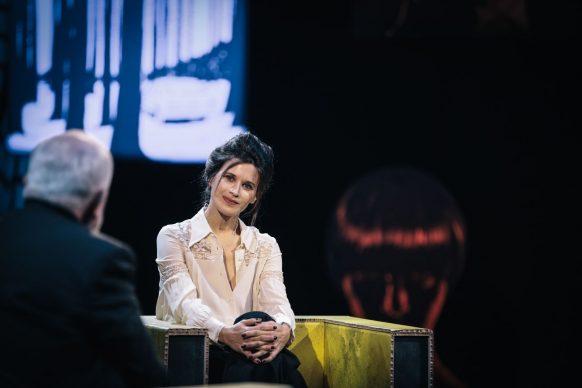 Valentina Cervi, ospite di Luce Social Club