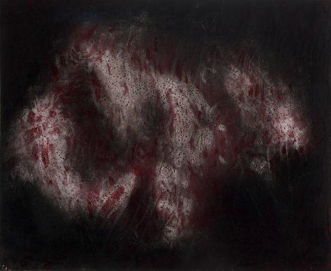 Yayoi Kusama (B. 1929), Oceans of Love, 1953. Estimate $60,000 - 80,000. Courtesy of Bonhams