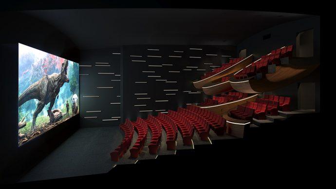 Oma Cinema, vista della sala © Ōma Cinema