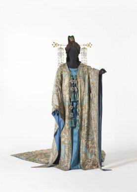 Luigi Sapelli (in arte Caramba), Costume di Turandot [atto I], Prato, Museo del Tessuto, inv. n. 18.03.37