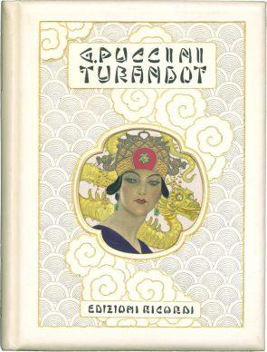 Leopoldo Metlicovitz, Copertina per l'edizione di lusso della riduzione per canto e pianoforte, 1926, Milano, Archivio Storico Ricordi
