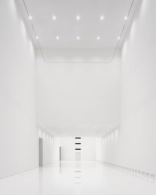 Royal Museum of Fine Arts, Anversa by KAAN Architecten. 21st-century exhibition hall and its impressive height, measuring up to 23 meters floor-to-ceiling © Stijn Bollaert