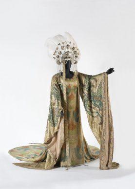 Luigi Sapelli (in arte Caramba), Costume di Turandot [atto II], Prato, Museo del Tessuto, inv. n. 18.03.38