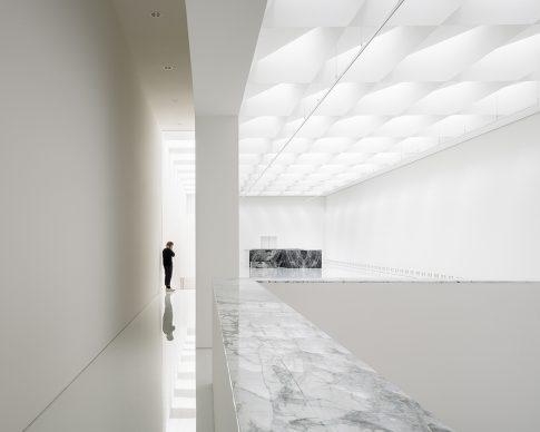 Royal Museum of Fine Arts, Anversa by KAAN Architecten. 21st-century museum exhibition hall © Stijn Bollaert