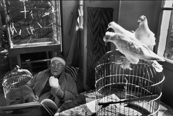 Henri Matisse, Vence, Francia, 1944 © Fondation Henri Cartier-Bresson / Magnum Photos